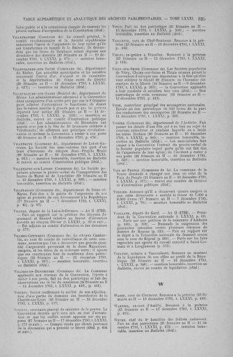 Tome 81 : Du 6 au 19 décembre 1793 - page 825