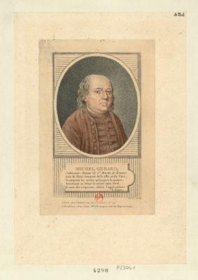 Michel Gerard cultivateur, député de St Martin de Rennes : [estampe]