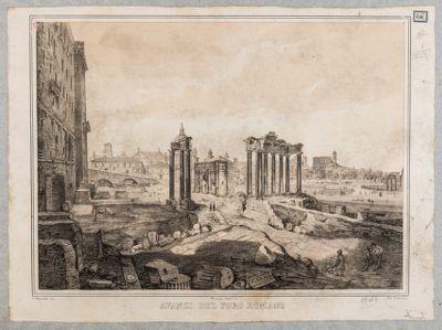 Clivio Capitolino, avanzi del Foro Romano