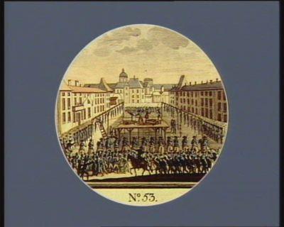 N.o 53 3 7.bre. Chatiment de Chateau Vieux à Nancy. .. : [estampe]