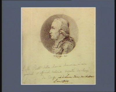 L' Abbé Peretti della Rocca chanoine vicaire, général et official d'Aleria député du clergé de Corse né à Levie dans son chateau l'an 1750 : [dessin]