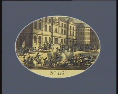 N.o 116 24 dito (14 10.bre) Fusillades de Lyon... : [estampe]