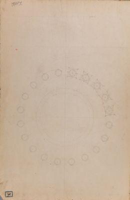 Tempio cosidetto di Vesta, pianta