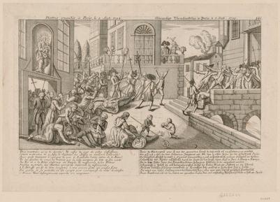 D'autres cruautés à Paris, le 2 Sept. 1792 Paris, meurtrière, qu'es tu devenu ?... : [estampe]