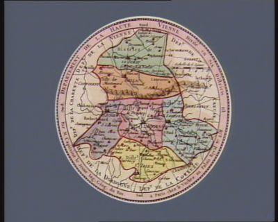 Departement de la Haute Vienne divisé en six districts : [estampe]