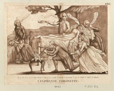 L' Expirante Targinette [estampe]