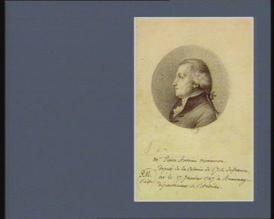 M. Pierre Antoine Monneron député de la colonie de l'Isle de <em>France</em>... : [dessin]