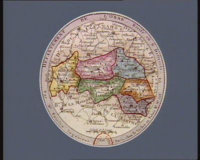 Departement de l'Orne divisé en 6 districts : [estampe]