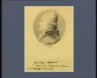 Jean Denys Lanjuinais député de la sénéchaussée de Rennes né à Rennes le 12 mars 1753 : [dessin]