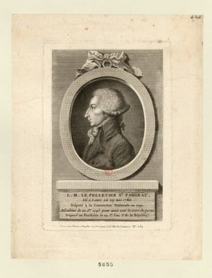 L.M. Le Pelletier St Fargeau né à Paris le 29 mai 1760 deputé à la Convention.... : [estampe]