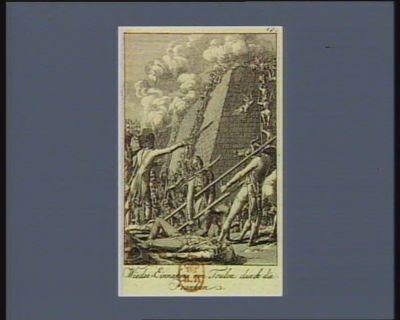 Wieder-Einnahme von Toulon durch die Franken [estampe]