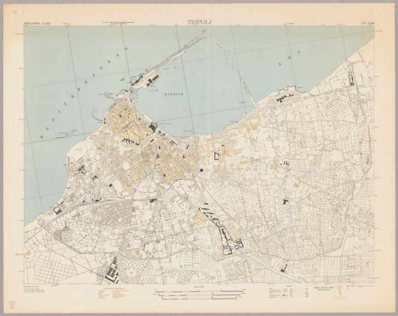 Tripoli : city plan