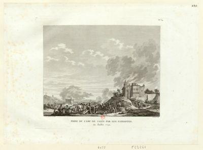 Prise du camp de Jalès par les patriotes en juillet 1792 : [estampe]