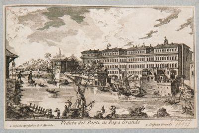 Porto di Ripa Grande, dogana e ospizio San Michele