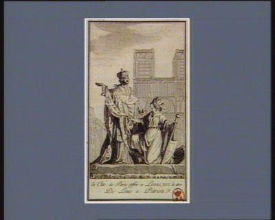 La  Cité de Paris offre a Louis XVI le titre de Louis le patriote [estampe]