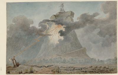[Allégorie sur la journée du 10 août 1792] [dessin]