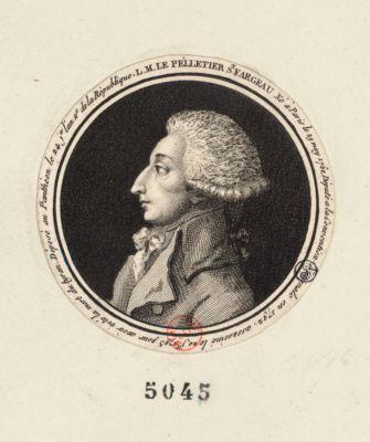 L.M. Lepelletier St Fargeau né <em>à</em> Paris le 29 mars 1760... : [estampe]