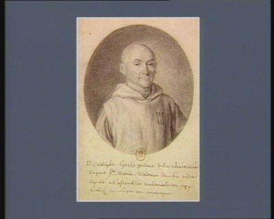 D. Cristophe Gerle prieur de la chartreuse du port S.te Marie, visiteur de son ordre, deputé à l'assemblée nationale en 1789, natif de Riom en auvergne : [dessin]