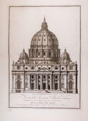 San Pietro, facciata della Sacrosanta Basilica Vaticana