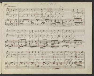 Drei zweistimmige Lieder : mit Begleitung des Pianoforte