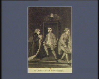 Le  Tiers État confesseur ou la confession des aristocrates [estampe]