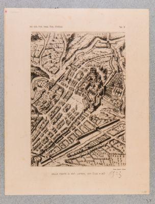 Dalla pianta di Ant. Lafreri, 1577