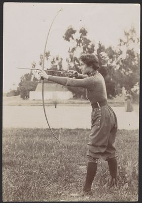 Athletics -- women's miscellaneous sports, archery