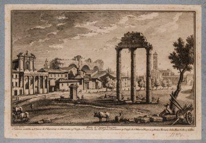 Tempio di Castore e Polluce, resti del tempio