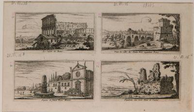 Colosseo, ponte Molle, S. Pietro in Montorio, Sepolcro degli Orazi e Curiazi