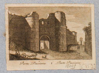 Porta Pinciana, esterno