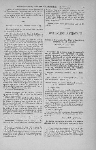 Tome 78 : Du 29 octobre au 10 novembre 1793 - page 37