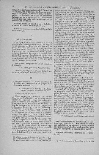 Tome 78 : Du 29 octobre au 10 novembre 1793 - page 38