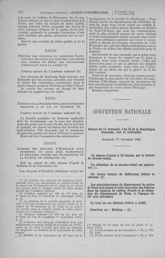 Tome 78 : Du 29 octobre au 10 novembre 1793 - page 112