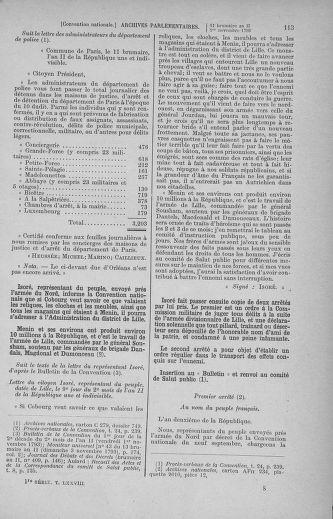 Tome 78 : Du 29 octobre au 10 novembre 1793 - page 113