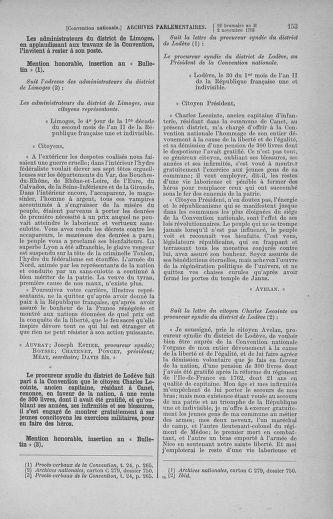 Tome 78 : Du 29 octobre au 10 novembre 1793 - page 153