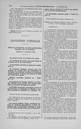 Tome 78 : Du 29 octobre au 10 novembre 1793 - page 200