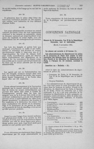 Tome 78 : Du 29 octobre au 10 novembre 1793 - page 349