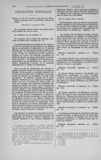 Tome 78 : Du 29 octobre au 10 novembre 1793 - page 450