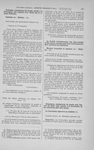 Tome 78 : Du 29 octobre au 10 novembre 1793 - page 675