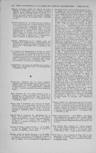 Tome 78 : Du 29 octobre au 10 novembre 1793 - page 744
