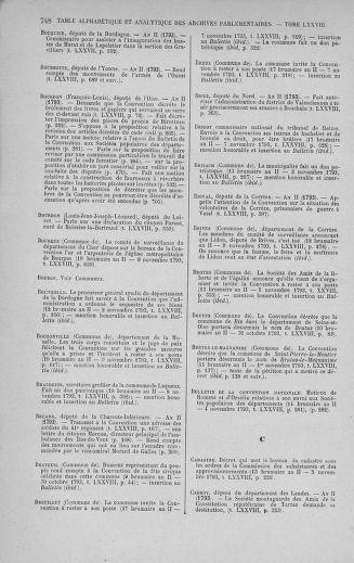 Tome 78 : Du 29 octobre au 10 novembre 1793 - page 748