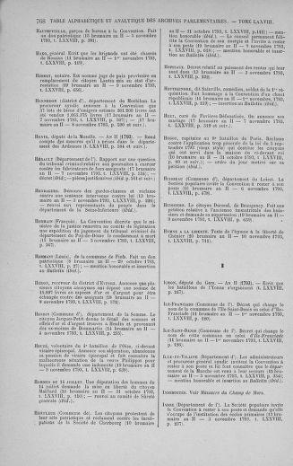 Tome 78 : Du 29 octobre au 10 novembre 1793 - page 768