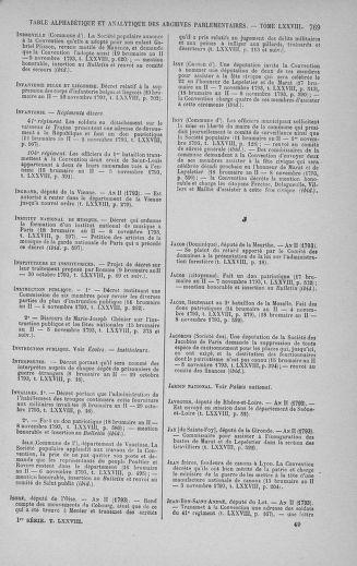 Tome 78 : Du 29 octobre au 10 novembre 1793 - page 769