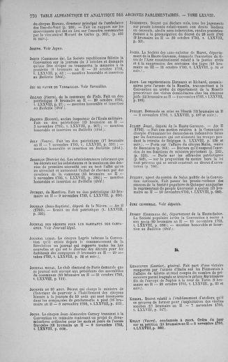 Tome 78 : Du 29 octobre au 10 novembre 1793 - page 770