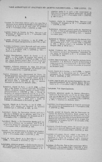 Tome 78 : Du 29 octobre au 10 novembre 1793 - page 771