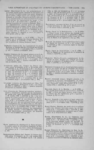 Tome 78 : Du 29 octobre au 10 novembre 1793 - page 775