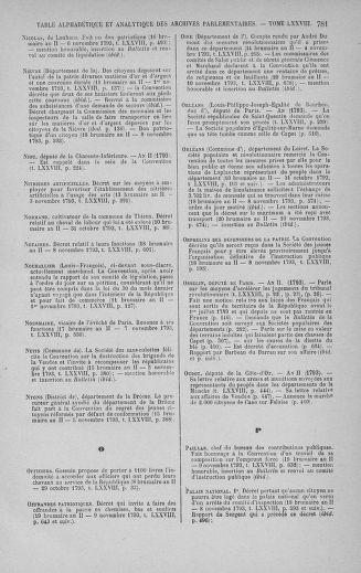 Tome 78 : Du 29 octobre au 10 novembre 1793 - page 781