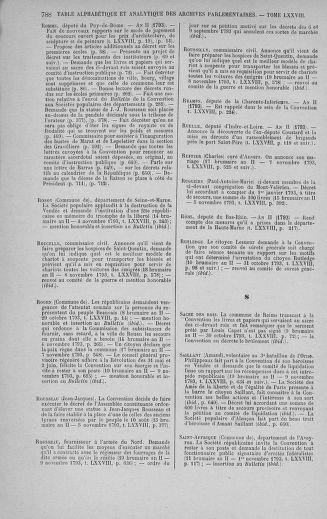 Tome 78 : Du 29 octobre au 10 novembre 1793 - page 788