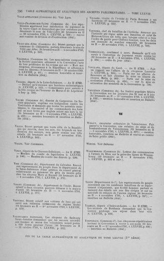 Tome 78 : Du 29 octobre au 10 novembre 1793 - page 796
