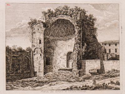 Tempio di Venere e Roma, avanzi